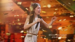 Download 13 Year Old Singing Like a Lion Earns Howie's Golden Buzzer America's Got Talent Video