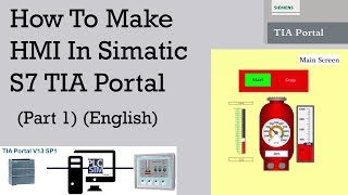 Download How To Create SCADA System In TIA Portal and PlcSim and HMI Simulation [English]: Tutorial 1 Video