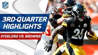 Download Steelers vs. Browns Third-Quarter Highlights | NFL Week 1 Video