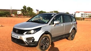 Download Tata Hexa 2017 | Real-life review Video