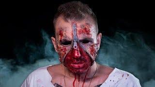 Download ДЕЛАЮ ГРИМ НА ХЭЛЛОУИН 🎃 ZIPPER FACE makeup tutorial 🔥 Video