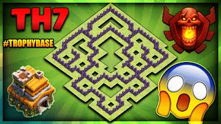 "Download BRAND NEW 2018 TOWN HALL 7 (TH7) TROPHY/DEFENCE BASE-""UNSTOPPABLE""-Clash Of Clans Video"