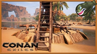 Conan Exiles Ep5 | Tier 3 Priest, Tier 3 Dancer Thralls, And The