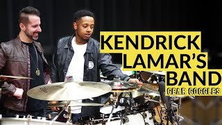 Download Gear Goggles | Kendrick Lamar's BAND. Rico Nichols, Tony Russell, Rob Gueringer | GRAMMY rehearsal Video