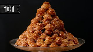 Download How To Make A Croquembouche (Cream Puff Tower) Video