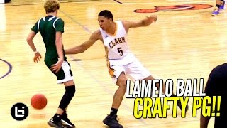 Download LaMelo Ball is CRAFTY With The Basketball!! FUTURE UCLA PG Has BIG Game! Video