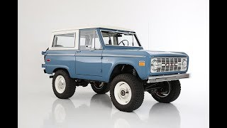 Download The Prototype Old School BR Restored And Modified Vintage Ford Bronco BR #44 Video