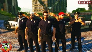 Download BREAKING THE LAW! - GTA 5 Mini-Series #1 - Bad Cops On Patrol (GTA 5) Video