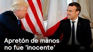 Download Apretón de manos con Trump no fue 'inocente': Emmanuel Macron - Despierta con Loret Video