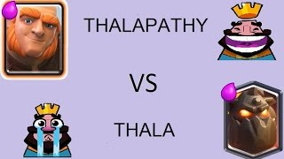 Download THALA VS THALAPATHY IN CLASH ROYALE FUN TROLL WITH TAMIL COMMENTS Video