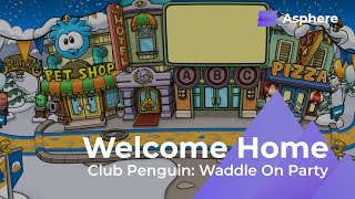 Download Club Penguin's Waddle On Party: Welcome Home (Plaza) Soundtrack   xSolidFigure Video