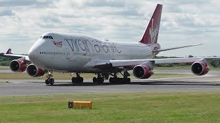Download 40 Minutes of Plane Spotting at Manchester Airport AVP | 747s A380s A350s A330s & More Video