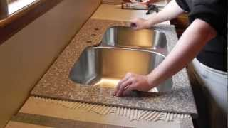 Download Lazy Granite Kitchen Countertop Installation Video Video