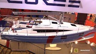 Download 2016 Azuree 33 Sailing Yacht - Walkaround - 2015 Salon Nautique de Paris Video