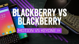 Download BlackBerry Motion vs KEYone: Buttons Make The BlackBerry Video