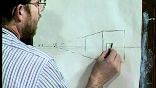 Download Jerry Yarnell teaches 1 point perspective Video