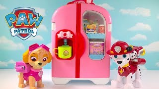 Download Video with Paw Patrol Refrigerator Fridge Supermarket Shopping Video