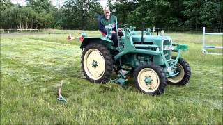 Download Gras mähen mit MAN Ackerdiesel B18A Video