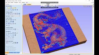 Download Aspire vectric tutorial Making a 3D Relief the dragon Video