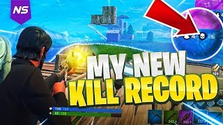 Download MY NEW PERSONAL BEST KILL RECORD ON FORTNITE! (INSANE GAMEPLAY) Video