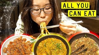 Download ALL YOU CAN EAT Korean Buffet Video
