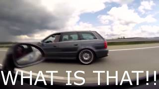 Download Cocky Porsche 911 messes with the wrong Sleeper Audi RS4 Video