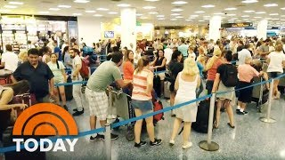 Download Hurricane Irma: Chaos At Miami's Airport And Cruise Ports | TODAY Video