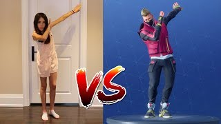 Download FORTNITE DANCE CHALLENGE! - (In Real Life) - ALL NEW DANCES!! Video
