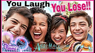 Download Try Not To Laugh Watching DISNEY ANDI MACK Funniest Musical.lys 2018 | Disney Challenge! Video