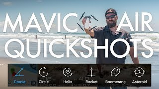 Download Mavic Air Quickshots Tutorial and Examples Video