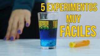 Download 5 experimentos científicos para niños (RECOPILACIÓN) Video