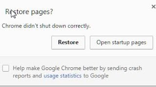 Download Chrome Didn't Shut Down Correctly Error Solved Windows 7 Video