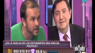 Download Federico Jiménez Losantos llama analfabeto a un huelguista de estudiantes Video