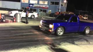 Download 5.3 s10 cam only vs mustang Video