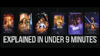 Download Star Wars Summary | Episodes 1-6 Explained in 9 Minutes Video