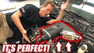 Download Burnout Patrol EP.4 - The NEW Supercharger Looks INSANE! (+Wiring/Transmission Update) Video