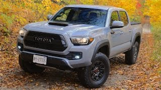 Download 2017 Toyota Tacoma TRDpro Review Video
