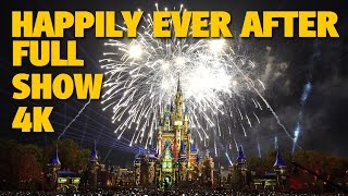 Download HAPPILY EVER AFTER Magic Kingdom Fireworks 4K Full Show + Outro | Walt Disney World Video