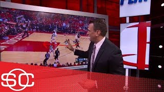 Download Tim Legler breaks down film of Rockets' Game 2 blowout of Warriors   SportsCenter   ESPN Video