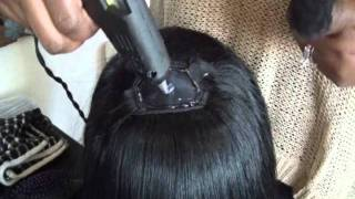 Download How To| Make a Full Wig with Hot Glue Gun (Best way to cut bangs) Video