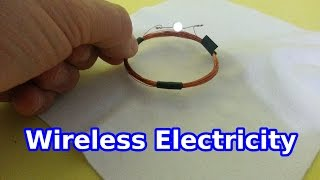 Download Wireless Electricity: a Simple Experiment Video