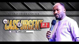Download A Must Watch! My Case Is Urgent pt. 2 By Apostle Johnson Suleman (Third Service 19 Jan 2019) Video