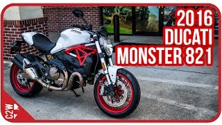 Download 2016 Ducati Monster 821 | First Ride Video