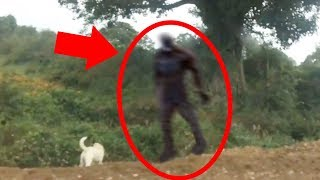 Download 5 Scary Things Caught On Camera & In Real Life - BIGFOOT Video