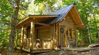 Download The New Porch on My Off Grid Log Cabin is My Favorite Spot on the Homestead Video