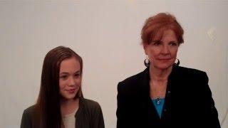 Download Ella Ballentine & Sara Botsford: Anne of Green Gables interview Video