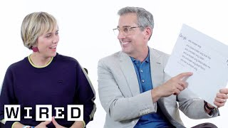 Download Steve Carell & Kristen Wiig Answer the Web's Most Searched Questions   WIRED Video