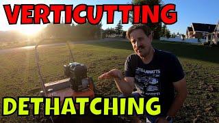Download VERTICUTTING DETHATCHING SLICE SEEDER // Connor Ward Video
