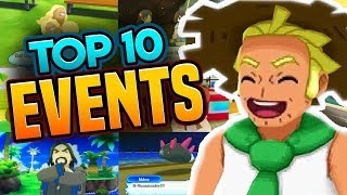 Download TOP 10 EVENTS IN POKEMON ULTRA SUN AND MOON | TOP 10 Side Quests Video