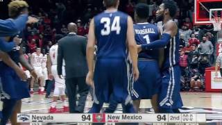 Download Nevada 105 New Mexico 104 | Unreal Comeback by Nevada Men's Basketball Video